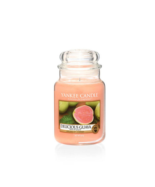 Yankee Candle ароматна свещ DELICIOUS GUAVA